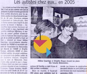 Les autistes chez eux en 2005