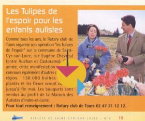 Les tulipes de l'espoir pr ls enfants autistes