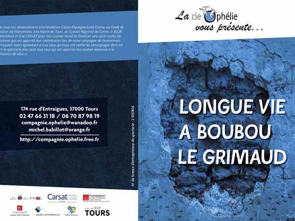 SPECTACLE «LONGUE VIE À BOUBOU LE GRIMAUD !»